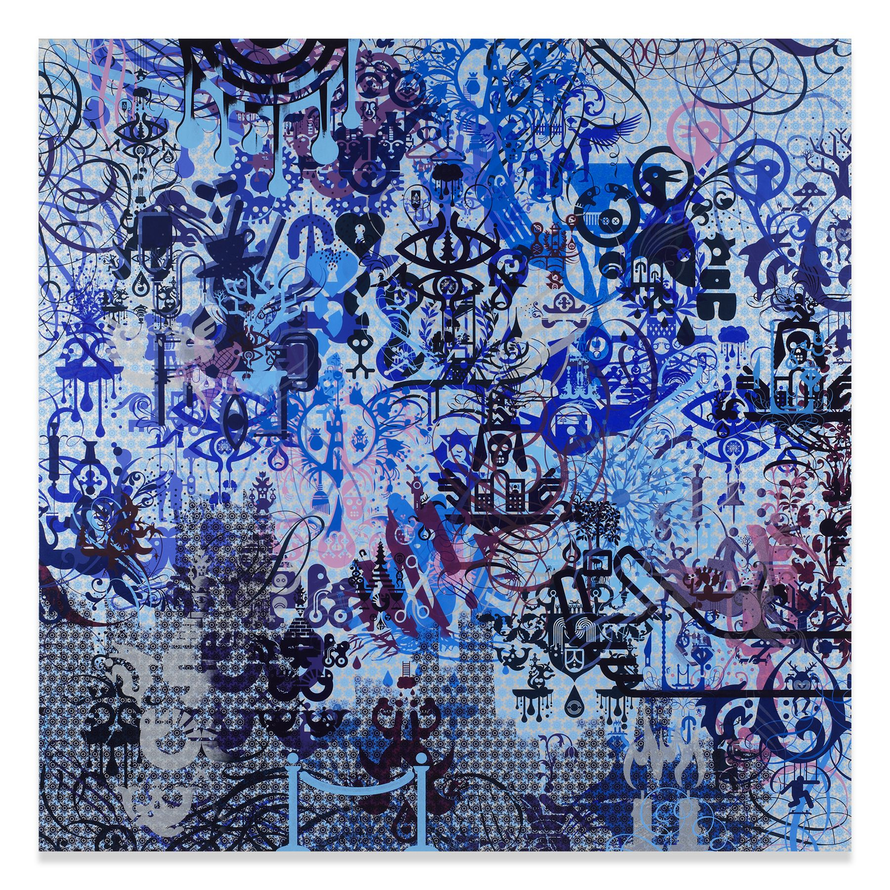 A Willing Victim, 2015,Acrylic on canvas,72 x 72 inches,182.9 x 182.9 cm,MMG#31351