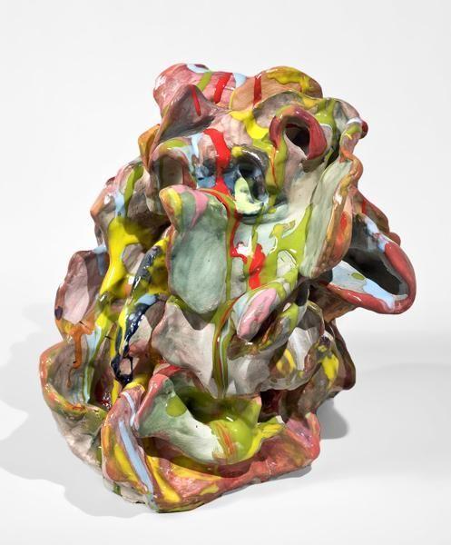 Dusty, 2011, Glazed ceramic, 12 x 13 x 14 inches, 30.5 x 33 x 35.6 cm, MMG#20003