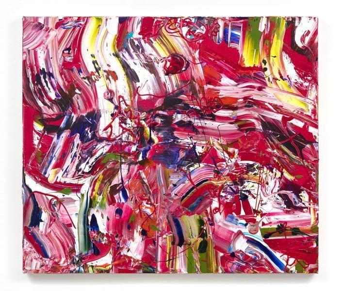 En Fuego, 2015, Acrylic on canvas, 40 x 46 inches, 101.6 x 116.8 cm, MMG#22611