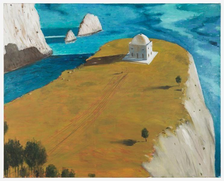 Julio Larraz, Homero en Punta Agravox, 2010, Oil on canvas, 40 x 50 inches, 101.6 x 127 cm, A/Y#22086