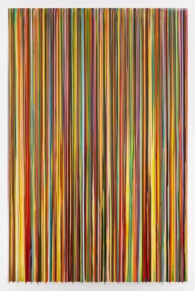 CANNOTGETUSEDTOTHEEVERYTHING, 2016, Epoxy resin and pigments on wood, 90 x 60 inches, 228.6 x 152.4 cm, AMY#28374