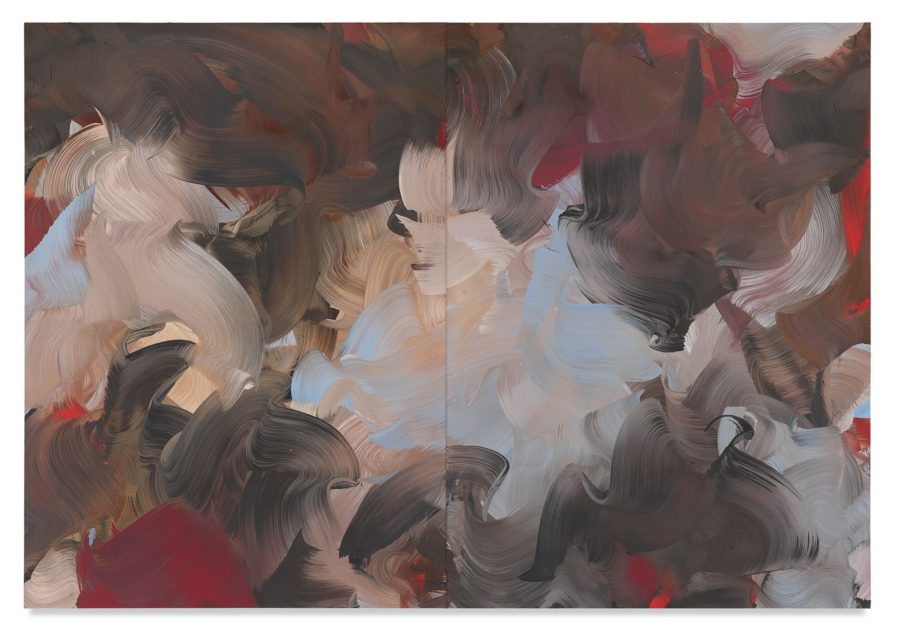as below, 2018,Oil on canvas,71 x 102 inches,180.3 x 129.5 cm,MMG#30265