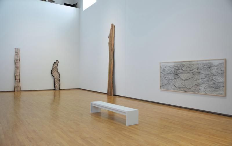 "Installation view, ""My Landscape,"" 24 May 2013 - 6 April 2014, MASS MoCA, North Adams, MA"