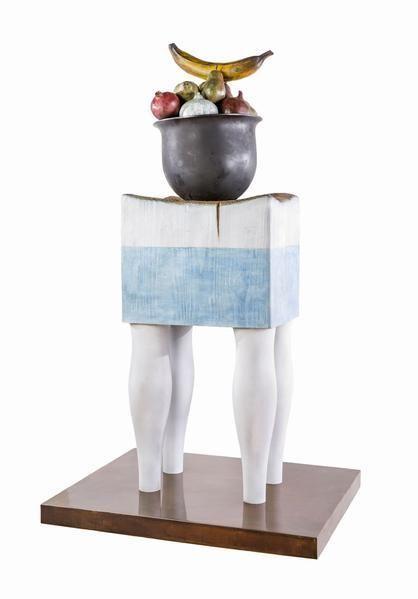 Julio Larraz, La Giralda, 2014, Bronze, 50 x 28 3/4 x 24 inches, 127 x 73 x 61 cm, A/Y#22050