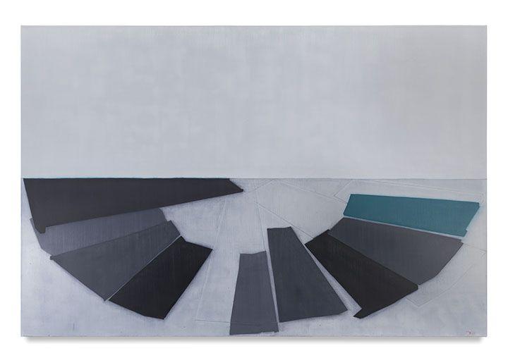 719 (D. Balmori island), 2016, Oil on linen, 60 x 90 inches, 152.4 x 228.6 cm, MMG#28704