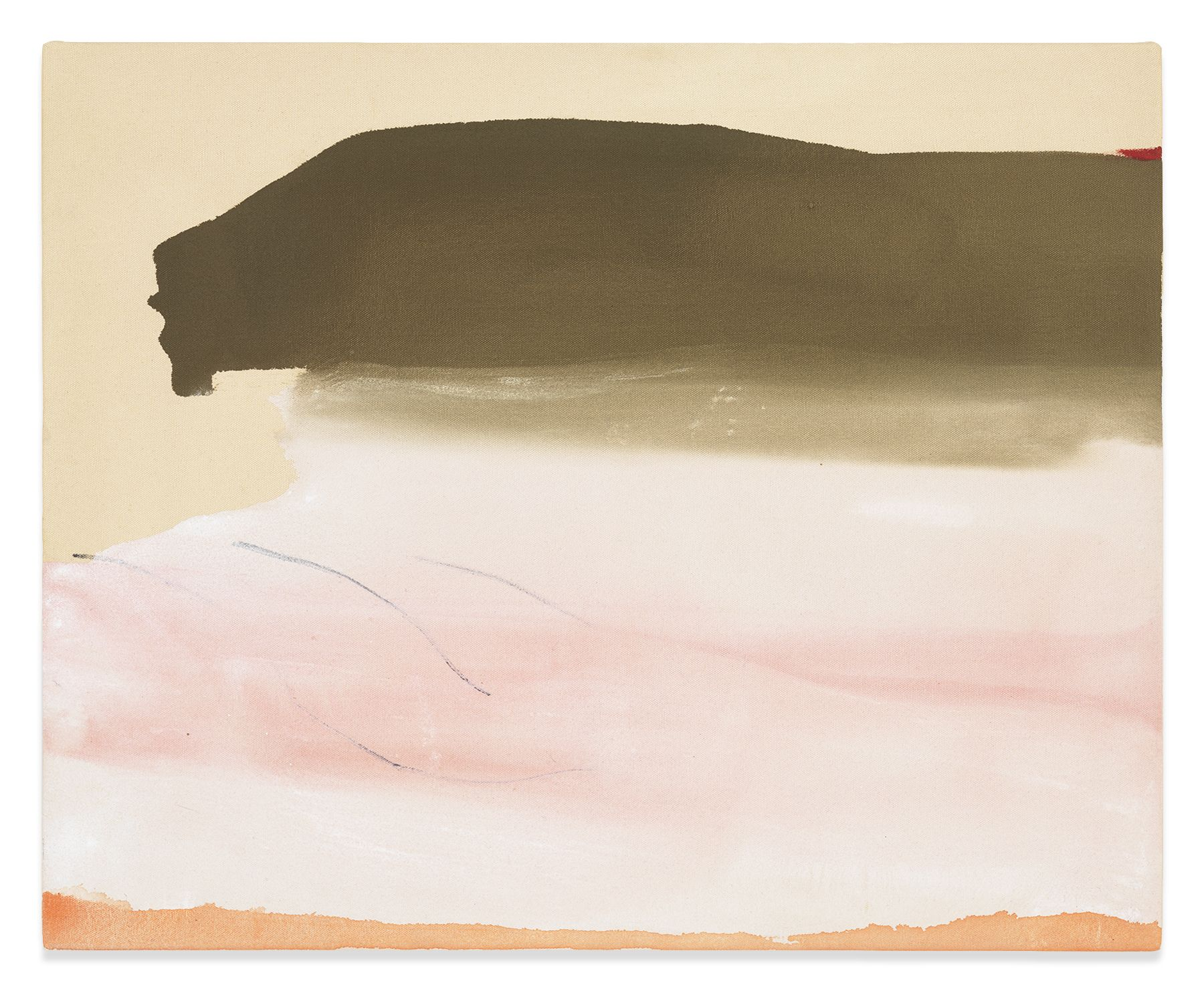 Second Wish, 1974, Acrylic on canvas, 21 x 25 3/4 inches, 53.3 x 65.4 cm, MMG#31384