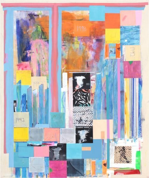 Franklin Evans, mocacpolke92or1, 2014, Acrylic on canvas