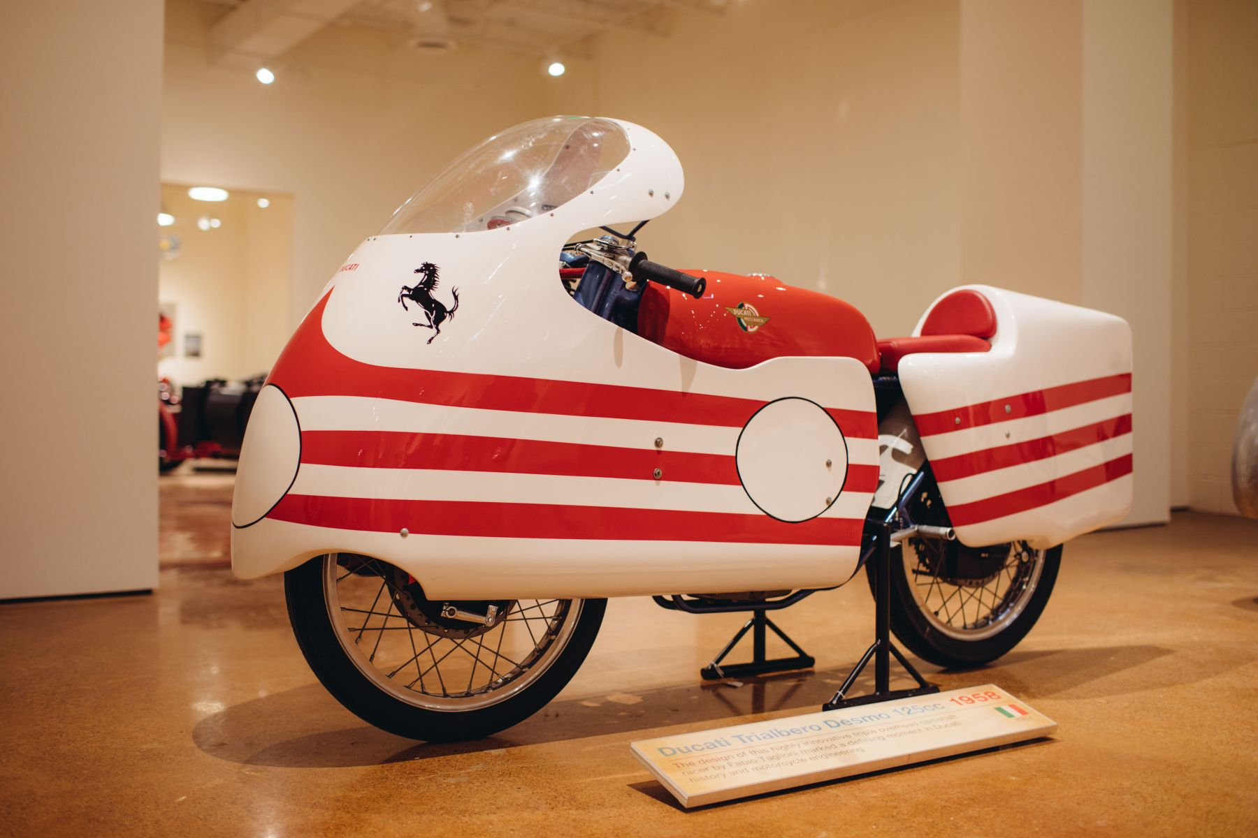 Rare Ducati 125cc Trialbero Grand Prix Racer