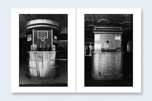 Hardcover, 5 1/2 x 7 1/4, 16 pages, 11 duotone plates, 1 original signed photograph.