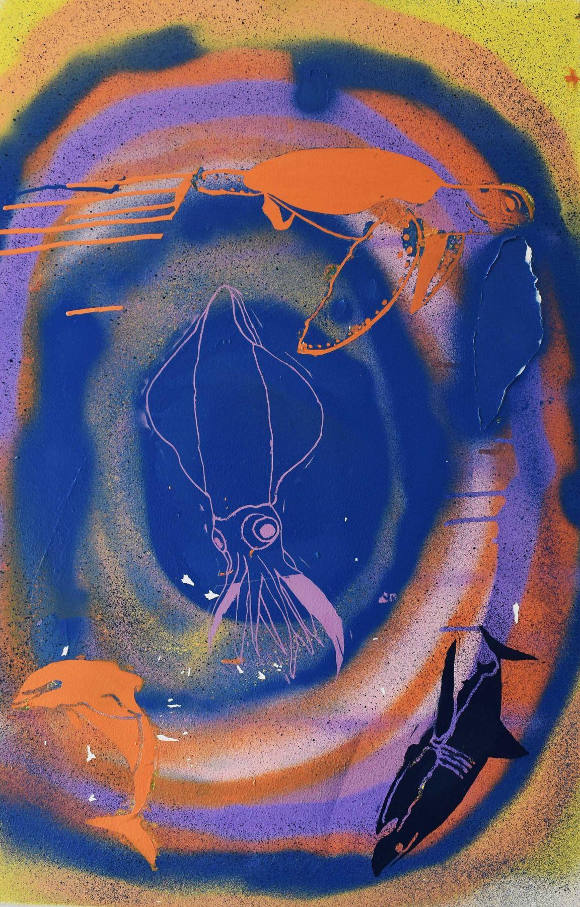 Jaimee Scott  Under the Sea, 2019 Artwork