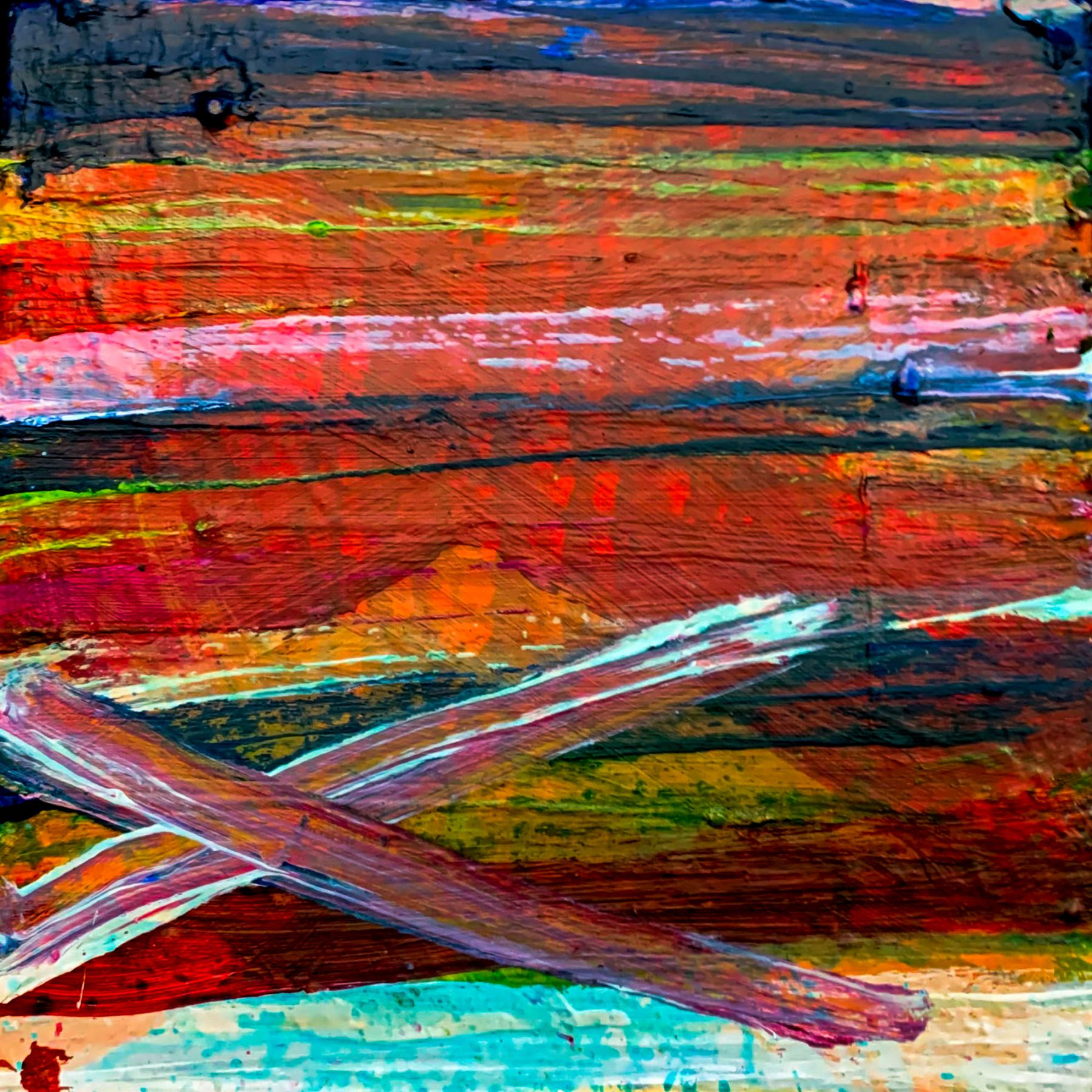 Willie Mutton  Stripe Cross Colour, 2019