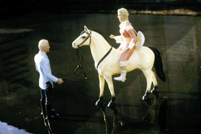 Laurie Simmons, Man/Woman/Horse/Water, 1979