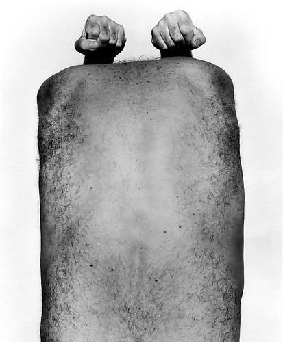 John Coplans, Self Portrait with Arms Above, 1984