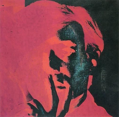 Andy Warhol, Self-Portrait, 1966-1967