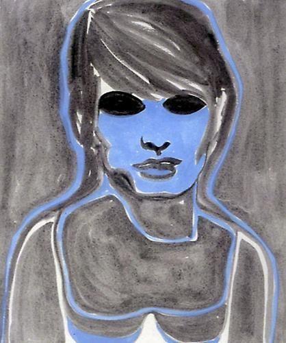 Rosemarie Trockel, Used Face II, 2001