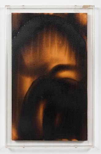 Yves Klein Peinture de Feu, (F 69), 1961
