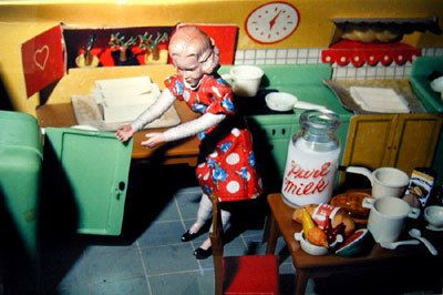 Laurie Simmons, Woman Opening Refrigerator, 1979