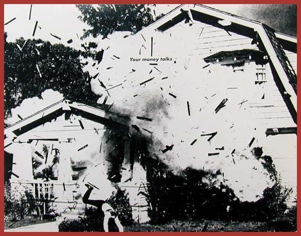 Barbara Kruger, Untitled (Your money talks), 1984