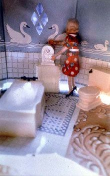 Laurie Simmons, First Bathroom/Woman Standing Vertical, 1978
