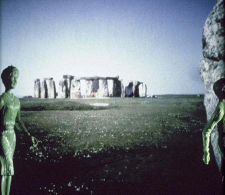 Laurie Simmons  Tourism: Green Stonehenge, 1984