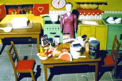 Purple Woman/Kitchen, 1978