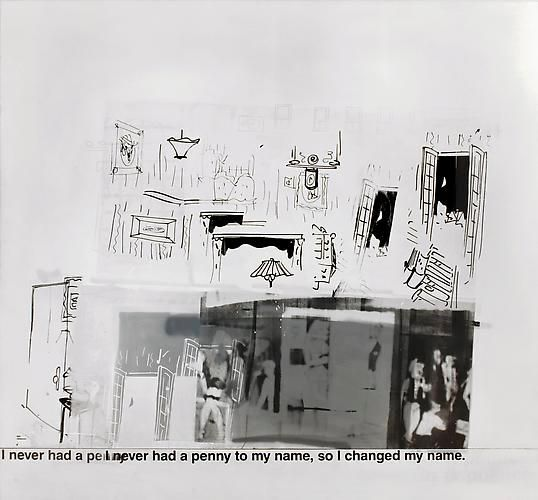 Richard Prince, My Name, 1990