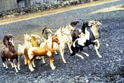 Laurie Simmons, Horses/Slant, 1979