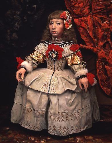 Yasumasa Morimura, Daughter of Art History (Princess A), 1990