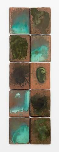 Andy Warhol Oxidation Painting (in ten parts), 1978