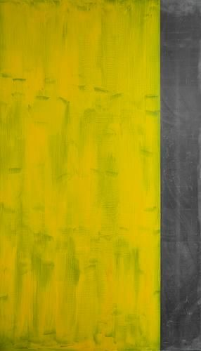 Untitled I, 1990, acrylic on lead