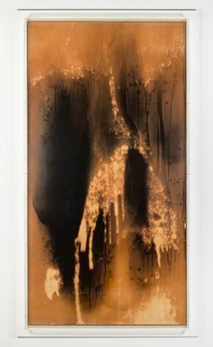 Yves Klein Untitled Fire Painting, (F 27 I), circa 1961