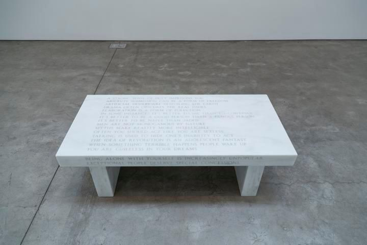 Jenny Holzer, Selection from Truisms: A Strong Sense of Duty...Text: Truisms (1977-79), 1987