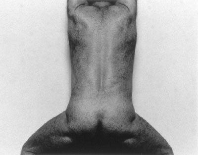 Self Portrait (Back View, Upright)