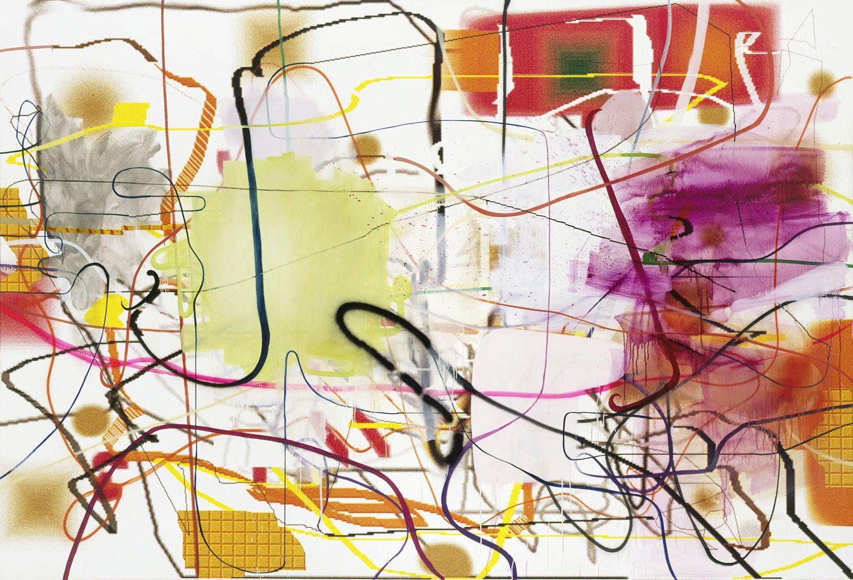 Albert Oehlen Bild und Auge, 1996-2000
