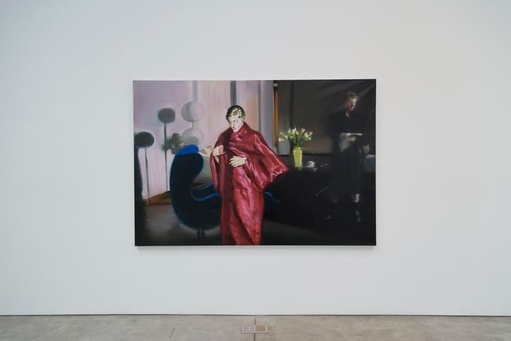 Eric Fischl, Krefeld Project; Living Room, Scene #4, 2002