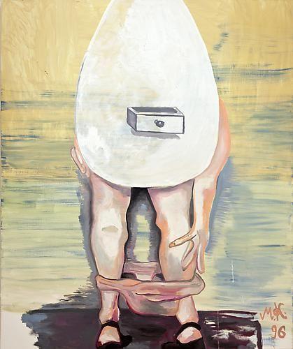Martin Kippenberger, Eifrau die man nicht schubladieren kann