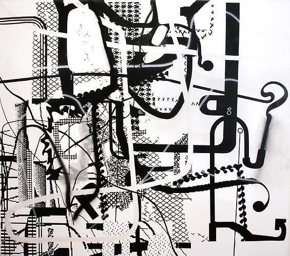 Albert Oehlen, Gripensis Posterion, 1997