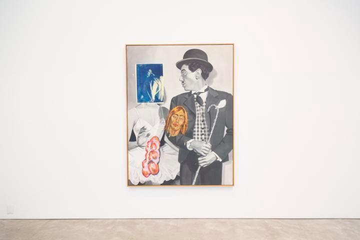 David Salle, Farce, 1992