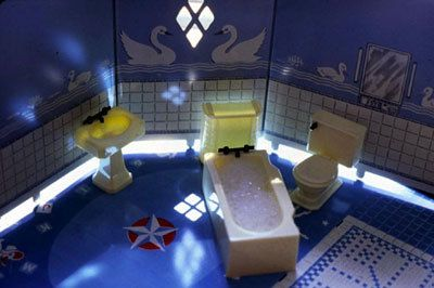 Laurie Simmons, New Bathroom Plan, 1979