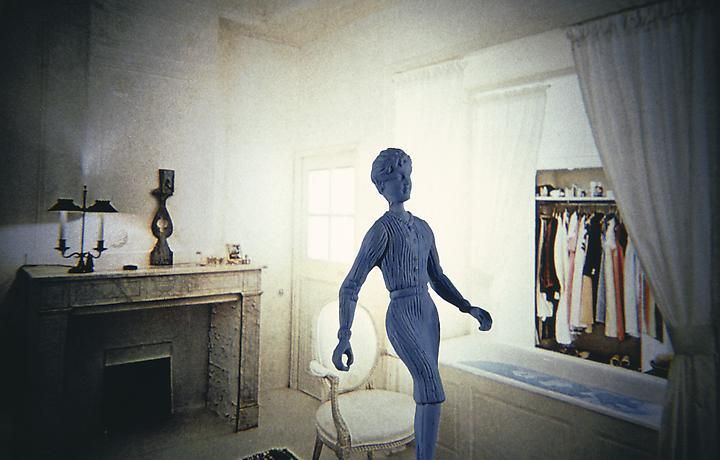 Laurie Simmons, Blue Woman/ Blue Water, 1983