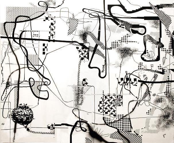 Albert Oehlen, Untitled, 2008
