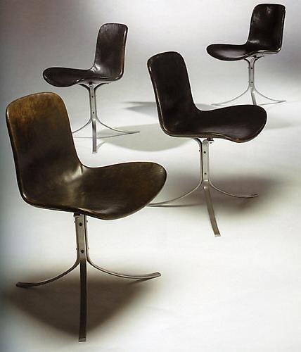 Poul Kjaerholm, PK 9 Chairs, Denmark, 1960
