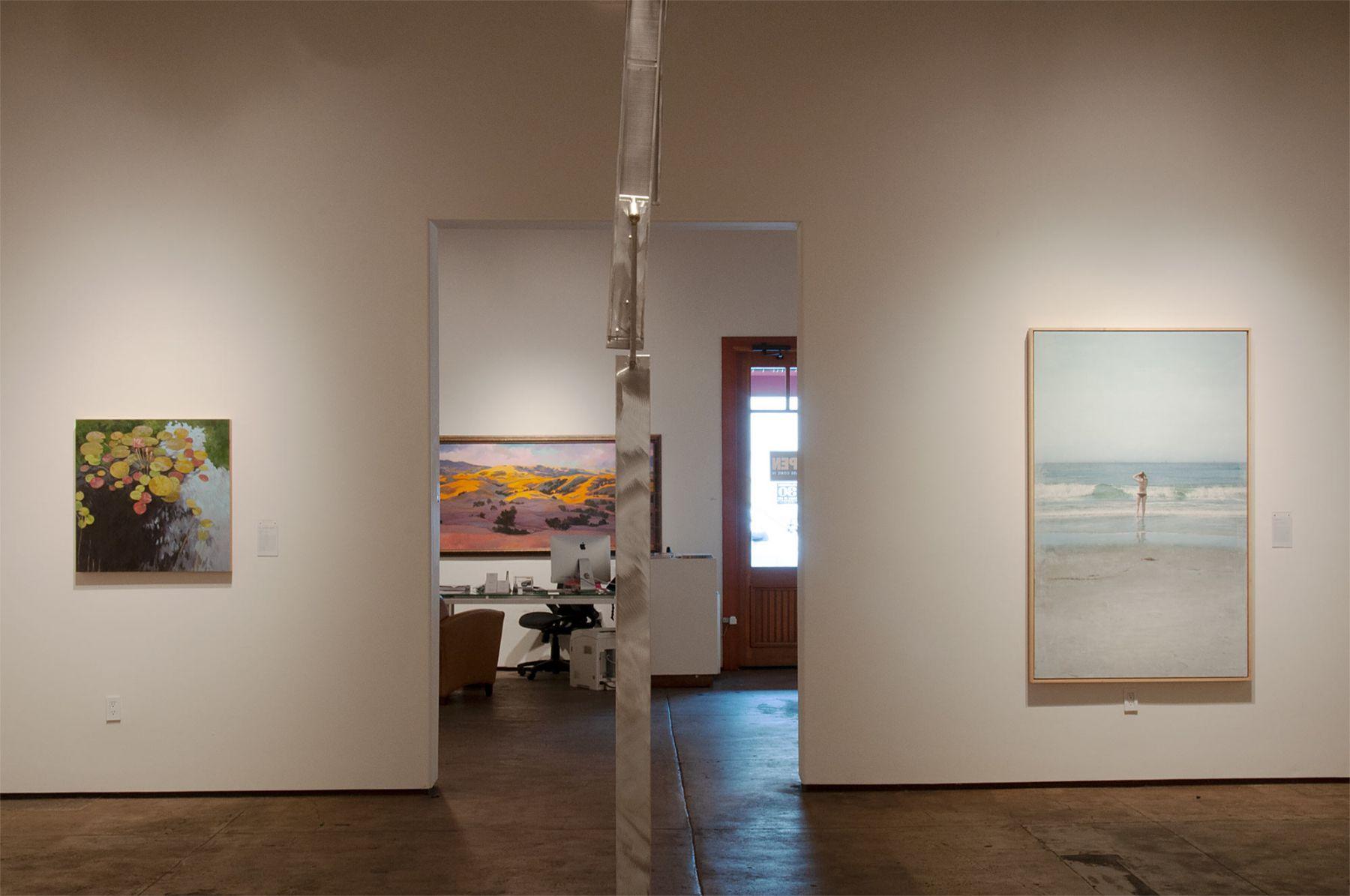 MASTERWORKS OF THE ARTISTS OF SULLIVAN GOSS exhibition, Nicole Strasburg, Ken Bortolazzo, Robin Gowen, John Nava