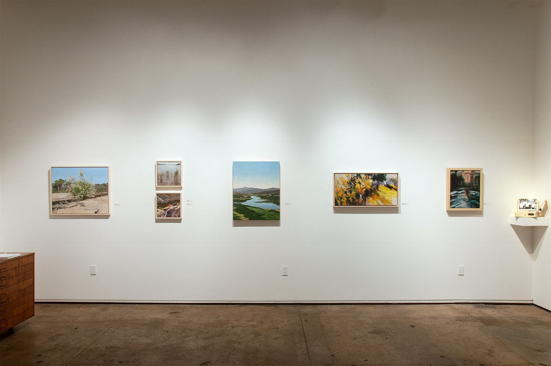 The River's Journey Installation photograph, Nina Warner, Nicole Strasburg, Connie Connally, Holli Harmon