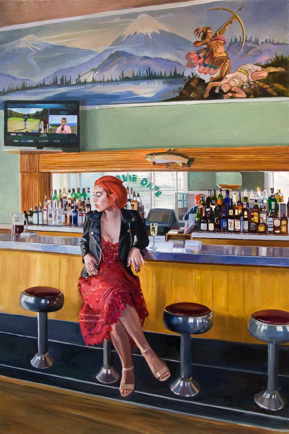 PATRICIA CHIDLAW, Paradise Café, 2019