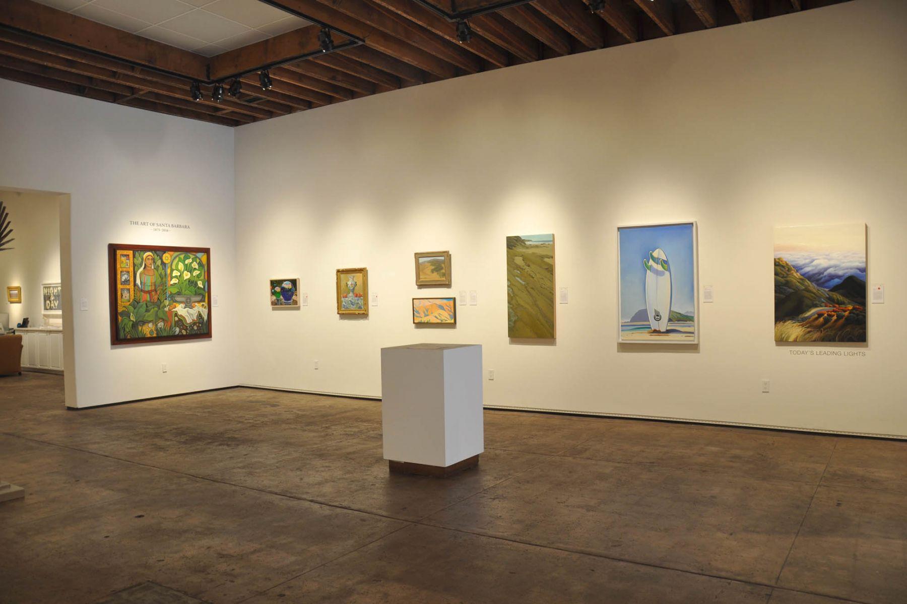 The Art of Santa Barbara, Angela Perko, Patricia Chidlaw, Sarah Vedder, Robin Gowen, Nicole Strasburg, Hank Pitcher, Phoebe Brunner