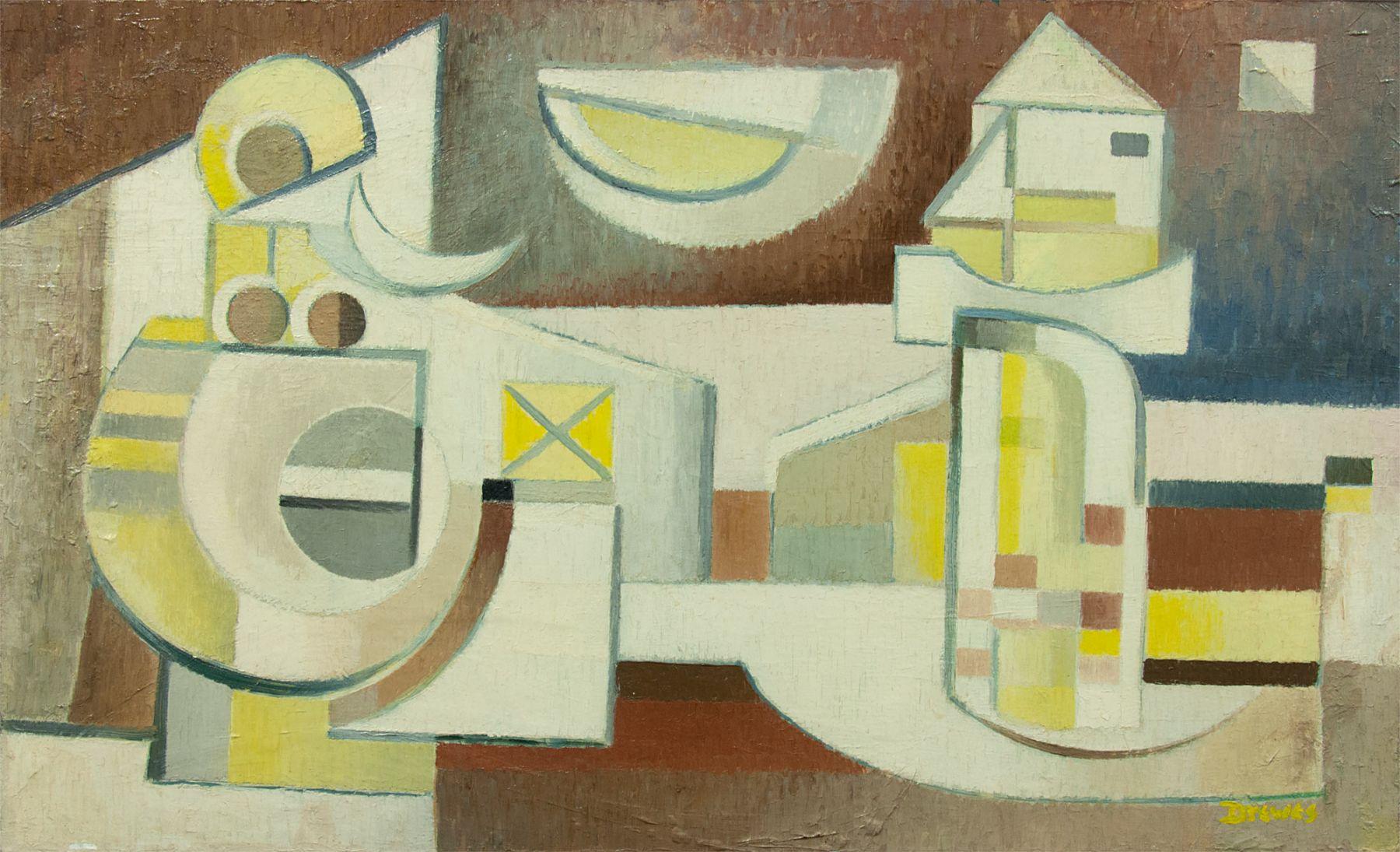 WERNER DREWES (1899-1985), Winter Mummery, 1945