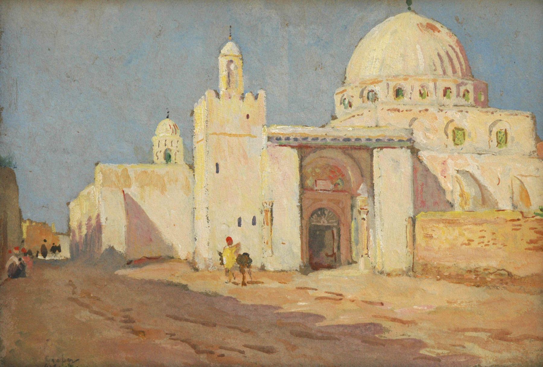 Colin Campbell Cooper, Mosque Sioli Ocbdebkasar, 1929