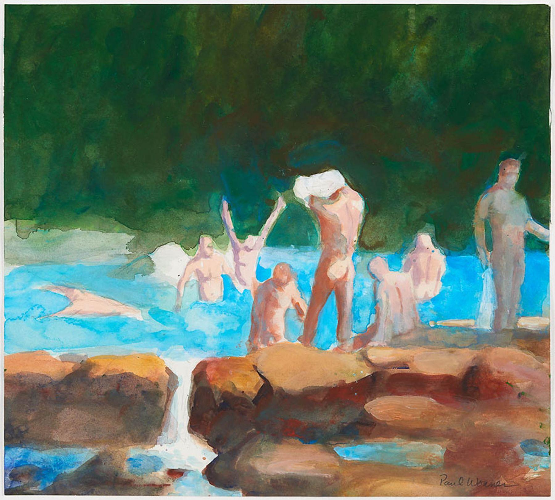 Paul Wonner, Bathers, 2003