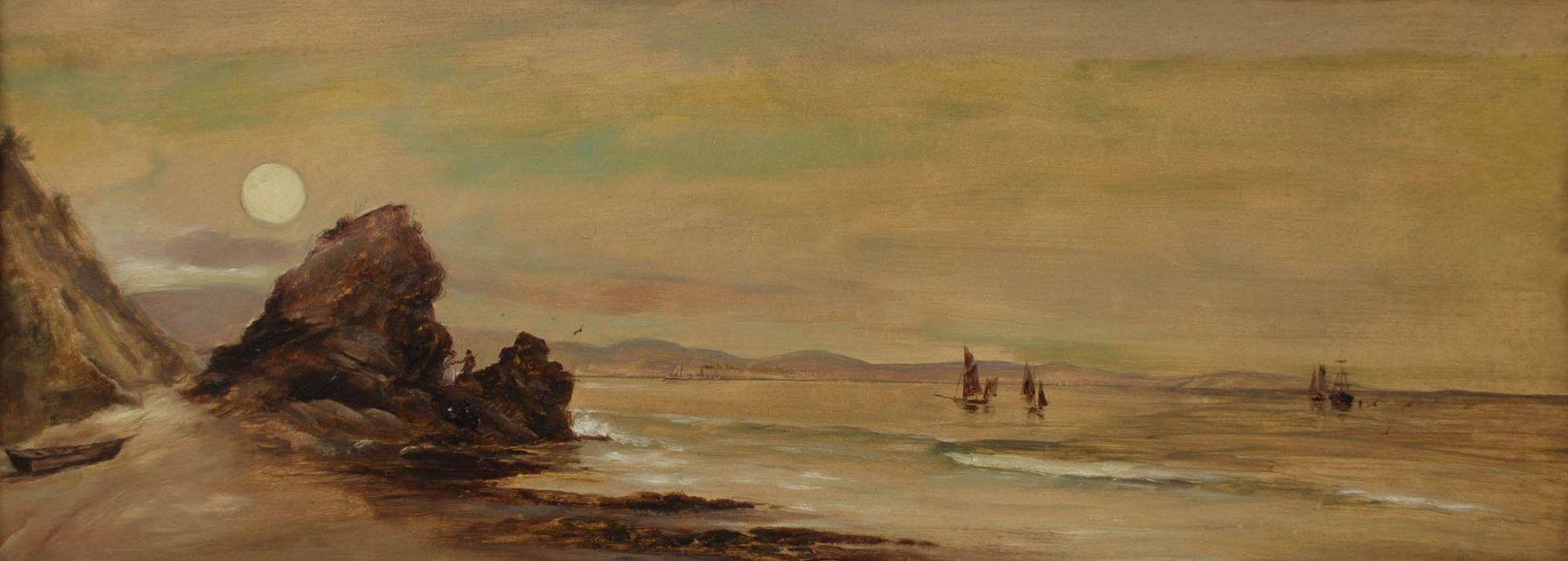 John Sykes, Moonrise at Castle Rock